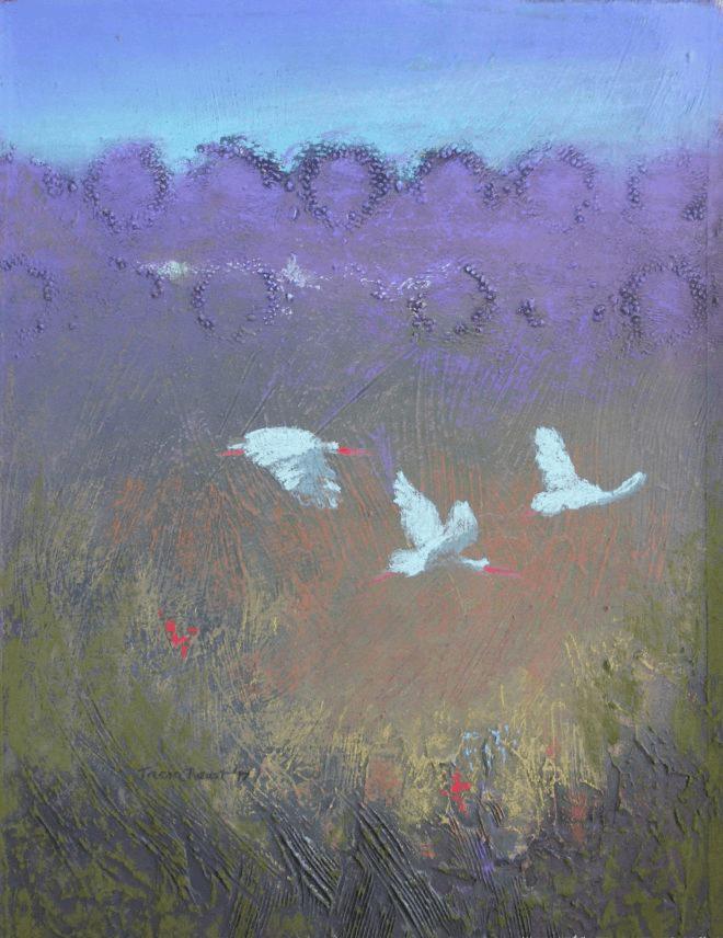Meadow Morning (34w x 44h cms)