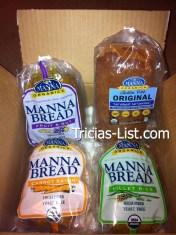 manna bread case of 4
