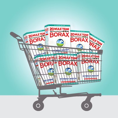 Keep It Clean w/ Borax *Review & Giveaway* Ends 1/09