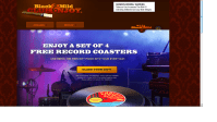 """Get A Set Of """"Record"""" Coasters … FREE !"""