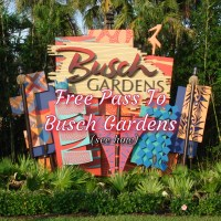 Free Park Pass To Busch Gardens & Water Country USA !