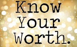 Know-your-worth blogger