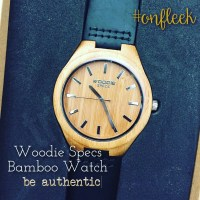 Woodie Specs 100% Bamboo Mens Wood Watch