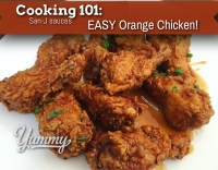 Cooking 101: EASY Orange Chicken Wings