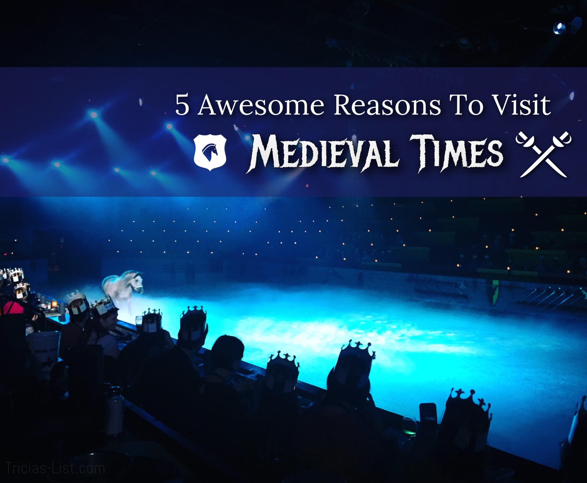 5 Reasons To Visit Medieval Times Baltimore