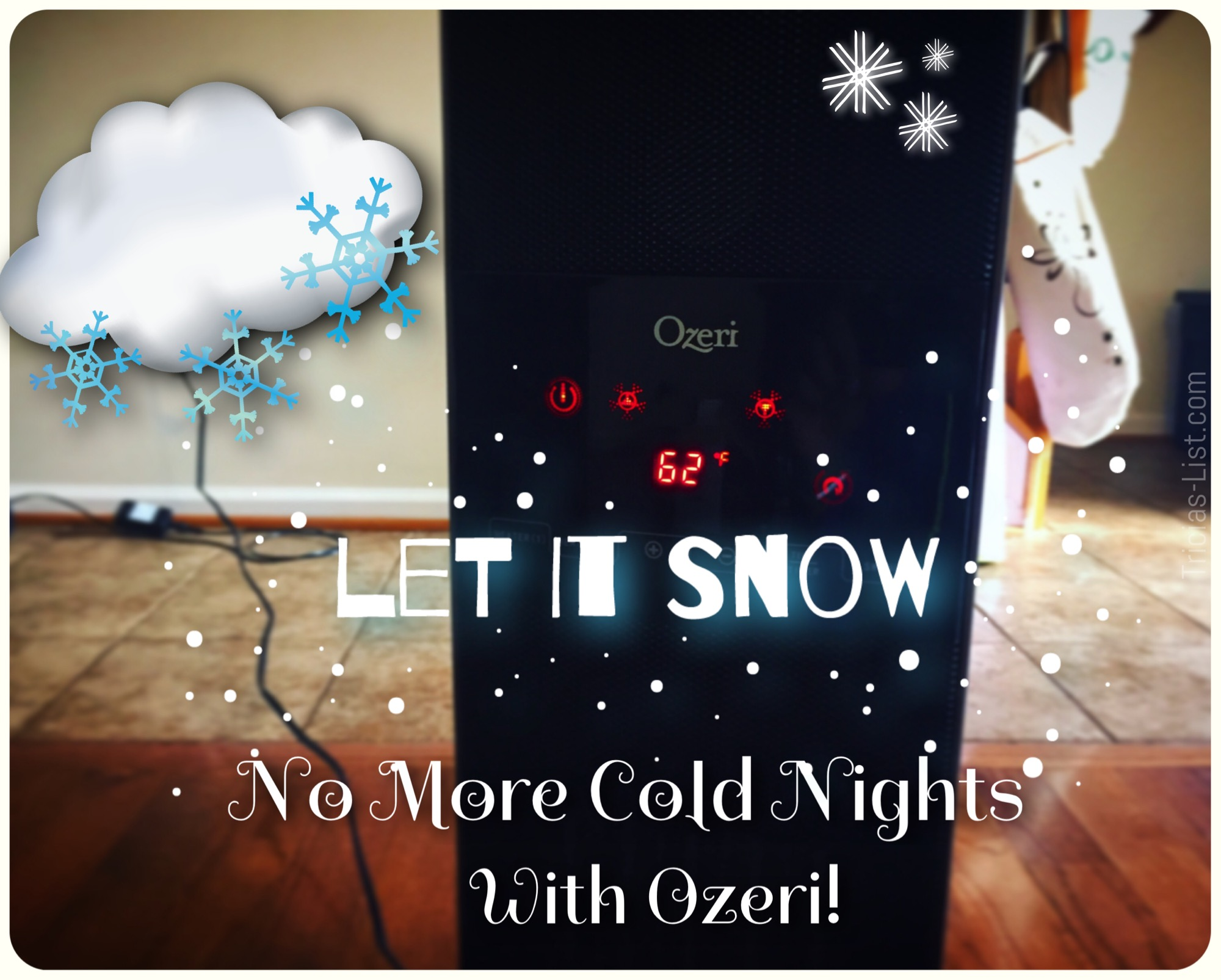 Keep Warm And Toasty With Ozeri Oscillating Heater