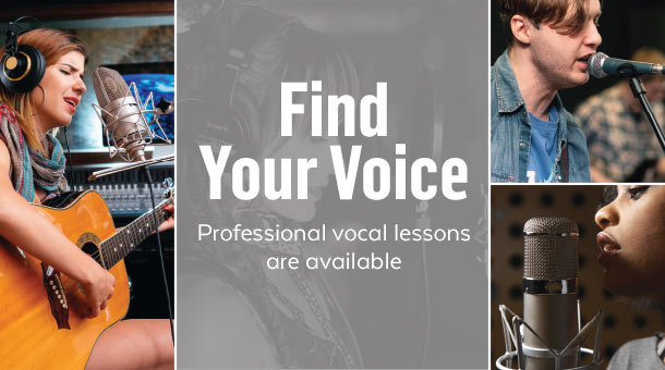 Guitar Center Offers Free Instrument Playing & Singing Lessons !