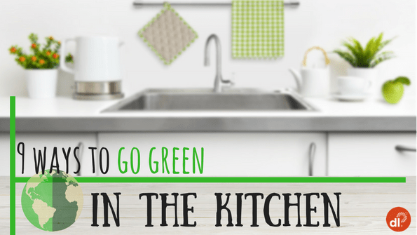 "Photo Gallery: 9 EASY Ways To ""Go Green"" In The Kitchen"