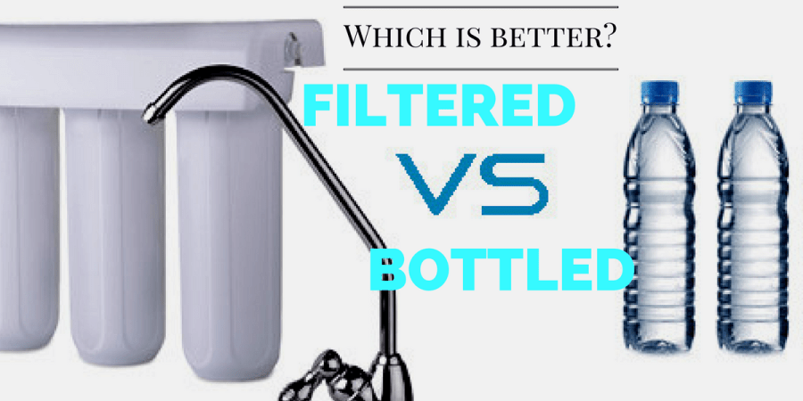 5 Reasons Why Drinking Filtered Water is Better Than Bottled Water