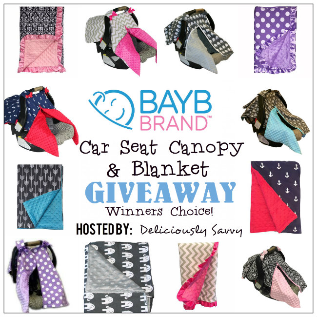 BayB Brand Car Seat Canopy & Blanket Giveaway ~ Ends 8/07