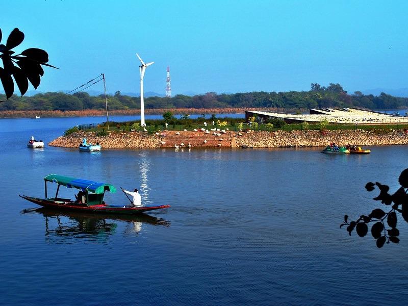 Image result for sukhna lake chandigarh