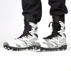 11 Black//Red HK Army Digger X1 Hightop Paintball Cleats