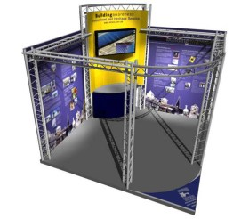 Concept design for EHS Corry Self Build, trade show Promoting Listed Buildings Northern Ireland DOE