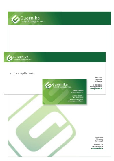 Logo and Stationery brand, Donegal