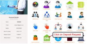 web work payment deposit