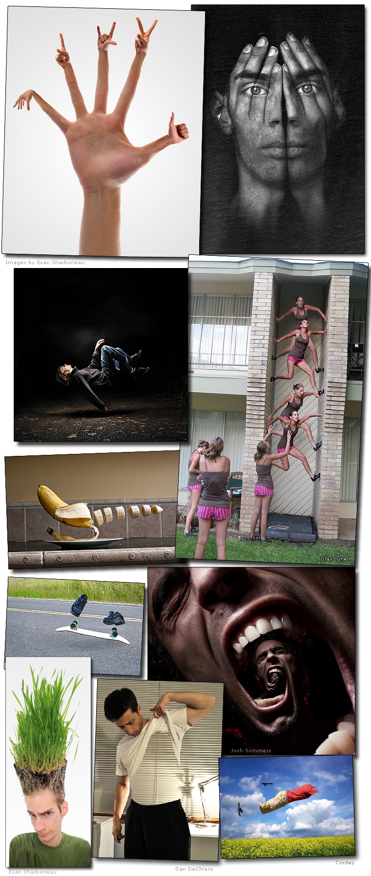 Adobe Photoshop Photomanipulations