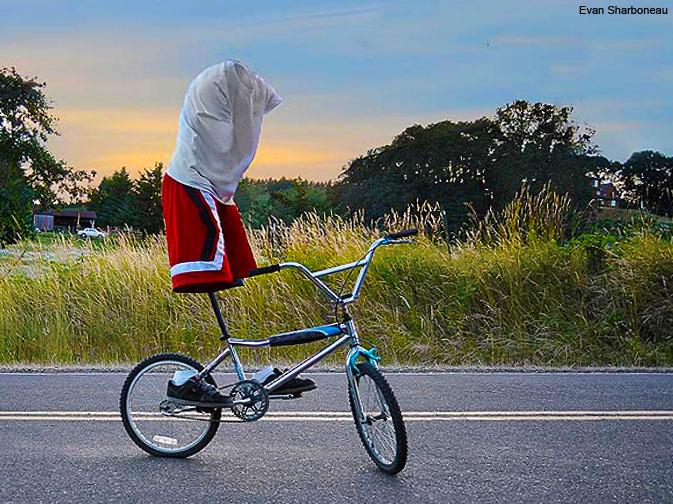 Invisible Man - Photoshop Photomanipulation