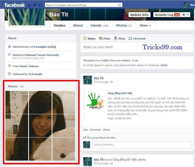 Now Design Your Facebook Profile Wall In A New Attractive Stylish Way ! !