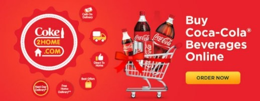 Coke2Home Loot : Get Rs.69 Off on Purchase of Rs.99 (New Users)