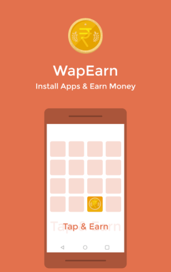 WapEarn App Loot : Earn 15 paytm cash per refer