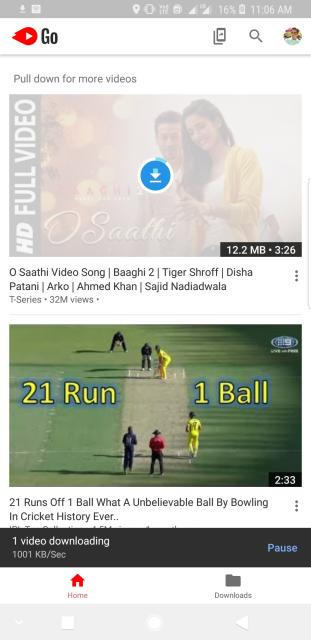YouTube Go 2018 Apk Download Free Beta Version For Android