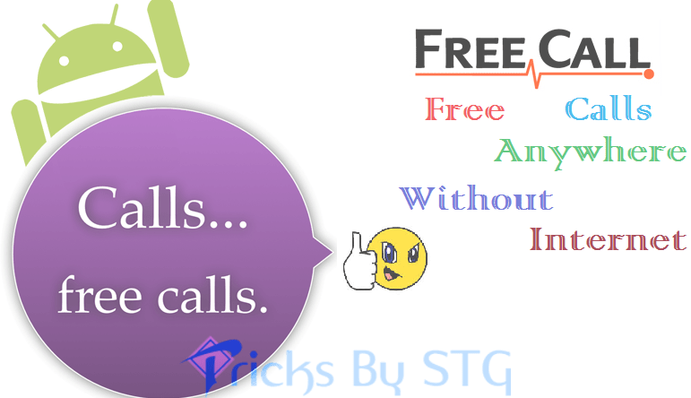 Free Calling Apps for android without Internet - 2019 - Tricks By STG