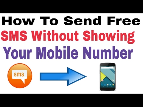 Top Ways To Send Free Sms Without Showing Number [Best Methods