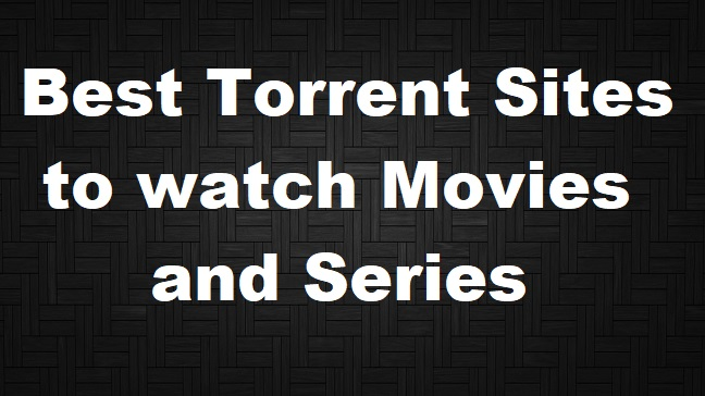 best torrent tracker for movies