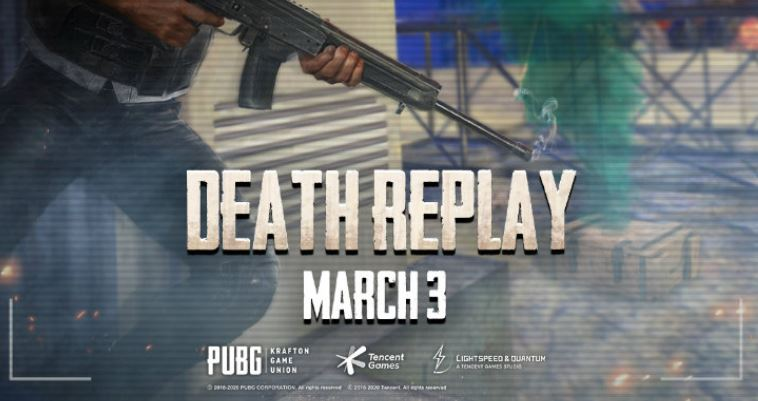 death replay in PUBG