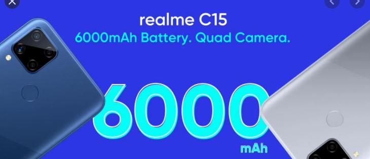 Realme C15, Realme C12 price
