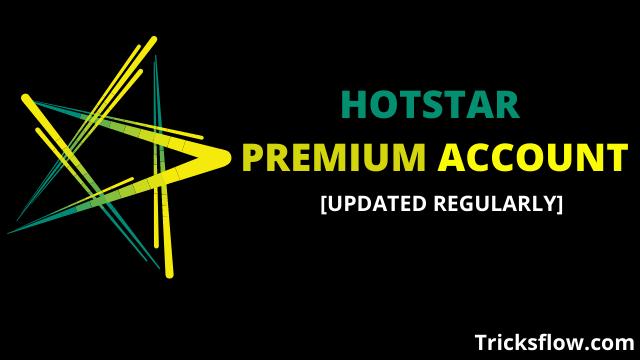 Hotstar Premium Account