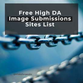 Free Image Submissions Sites