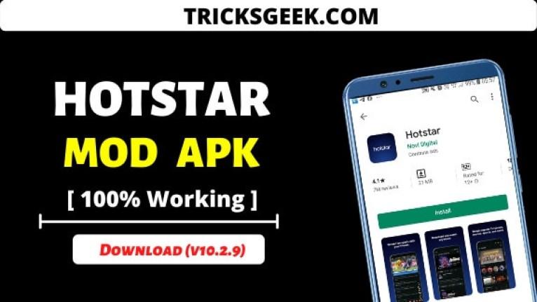 Download Hotstar premium mod apk