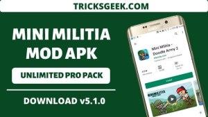 Doodle Army 2 - Mini Militia Mod Apk