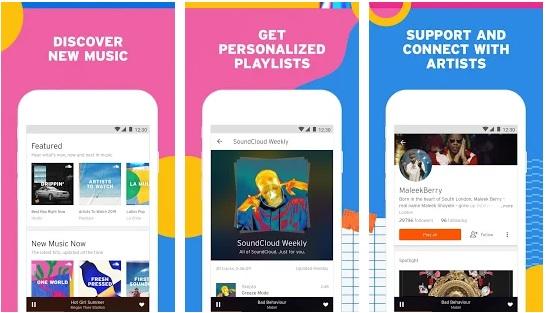 SoundCloud Music Apps
