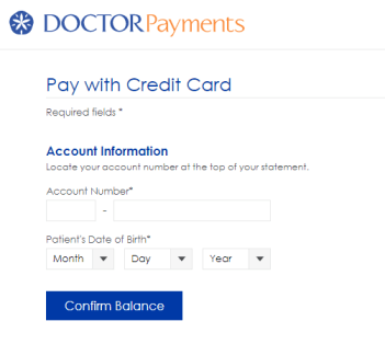 DoctorPayments bill payment