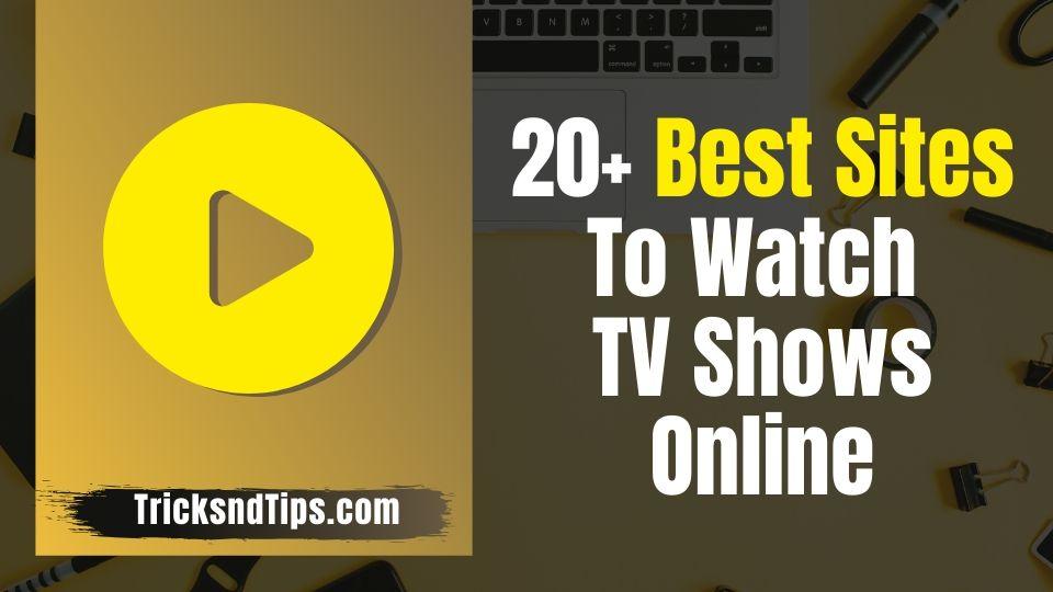 Best site to watch series