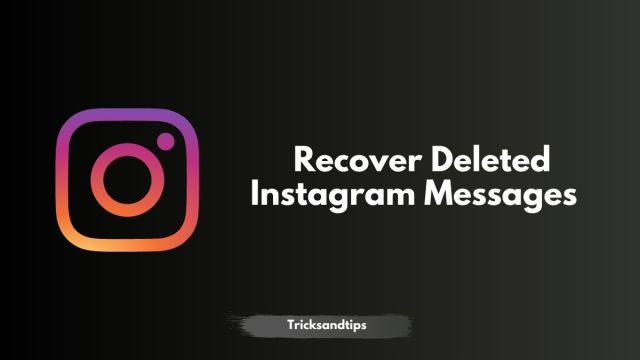 30 Free Ways to Recover Deleted Instagram Messages in 30