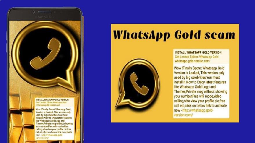 whatsapp gold malware