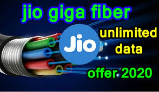 jio giga fiber unlimited data offer 2020
