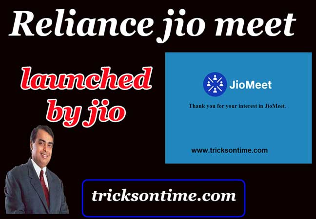 jio launch jio meet application