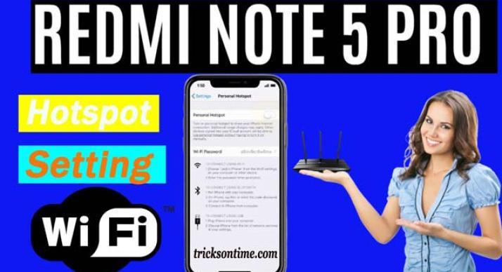 Redmi note 5pro hotspot settings in Hindi | रेडमी नोट5 प्रो  होस्टपोस्ट सेटिंग्स