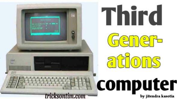 कंप्यूटर  third generation in hindi
