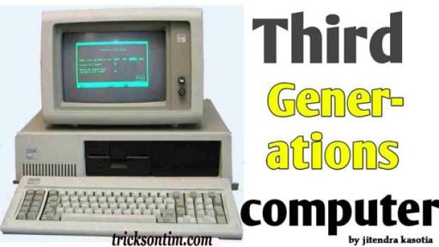 कंप्यूटर की तीसरी पीढ़ी ( third generation of computer in hindi )