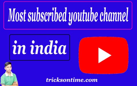 most subscribed youtube channels in india