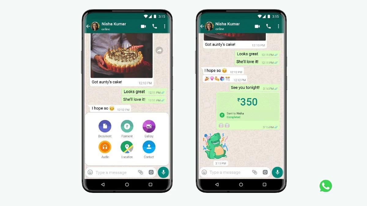 WhatsApp Payments india: वहस्टाप्प ने इंडिया में पेमेंट फीचर लांच कर दिया है