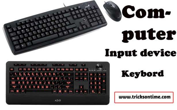 computer input device keyboard