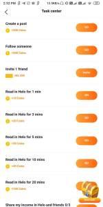 Helo App Refer and Earn Offer
