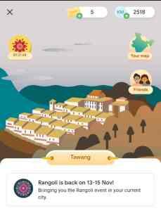 Go India Rangoli Event