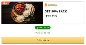 Swiggy Amazon Pay Offer